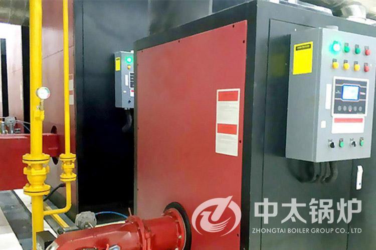 开封医院2吨真空热水锅炉