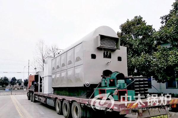 江西乳制品厂2吨生物质蒸汽锅炉