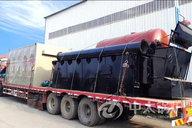 焦作化工设备厂360万大卡燃煤导热