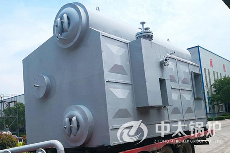 天津保温产品厂10吨热水锅炉