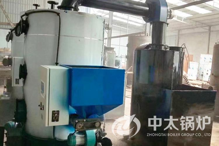 山东枣庄某养殖场生物质蒸汽发生器