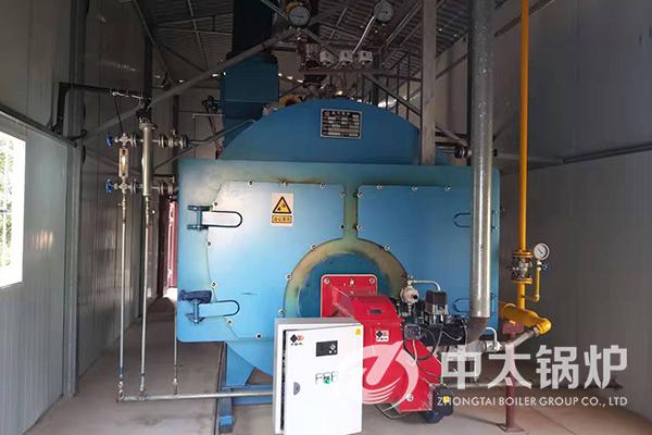 陕西渭南洗涤公司3吨超低氮燃气锅炉