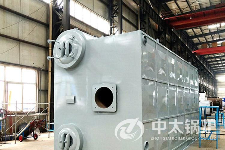 岳阳包装材料厂10吨热水锅炉