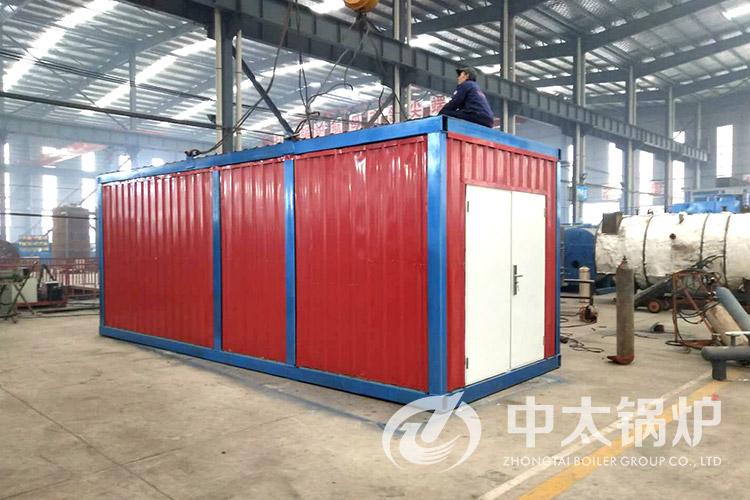 山西晋城建材公司1吨撬装式燃油燃