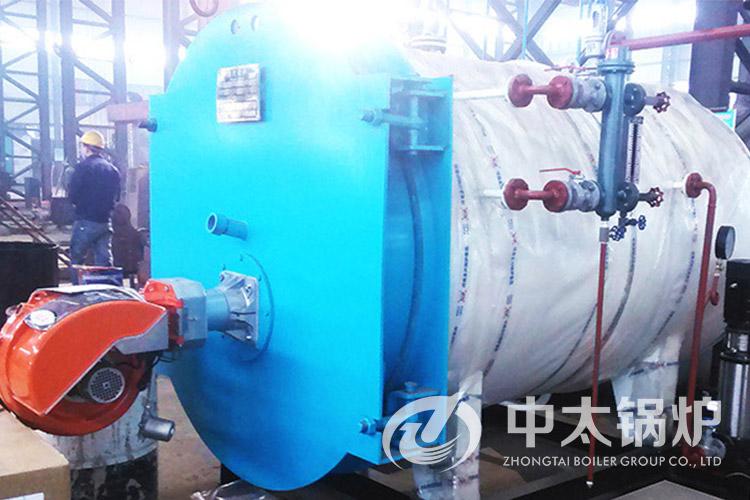天津纺织厂1.5吨热水锅炉